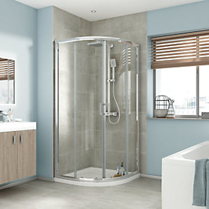 iflo Edessa Quadrant Shower Enclosure 900 x 900mm