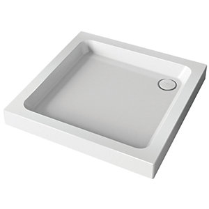 Mira Showers Flight Square Shower Tray & Waste 760mm x 760mm