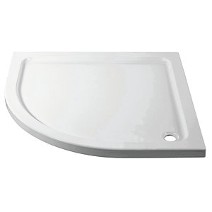 iflo Quadrant Abs Capped Slimline Stone Shower Tray 900mm