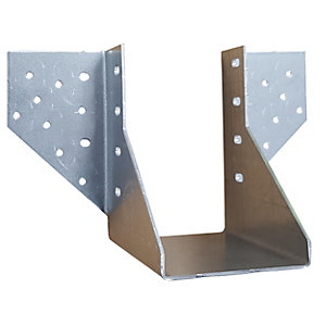 Simpson Strong-Tie Face Fix Girder Truss Hanger 125 mm (with Bag of Round Nails included)