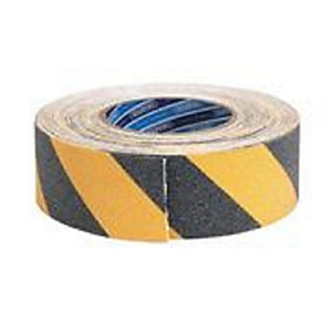 Coo-var Anti-slip Tape Hazard 18m x 50mm Yellow/Black