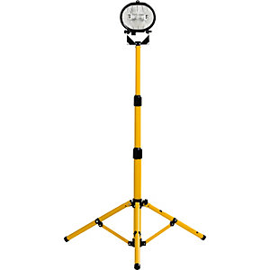 Defender 110V Single Halogen Head On Adjustable Tripod