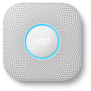 Nest Smart Protect 2ND Generation Wired Smoke and CO2 Detector S3003LWGB