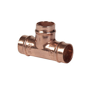 Conex Equal Tee Copper 28mm