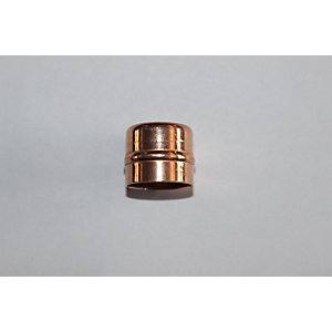 PlumbRight Solder Ring Fitting 15 mm Stop End