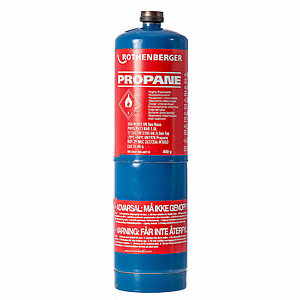 Rothenberger Propane Gas Cylinder 400g