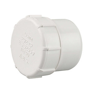 Osmaweld 5Z292W 40mm Access Plug White