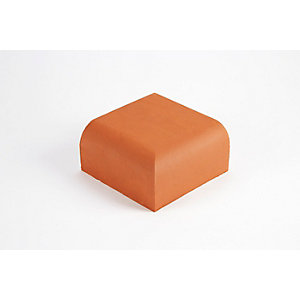 Wienerberger Special Shape Brick Blue Bullnose External Return BN10.4