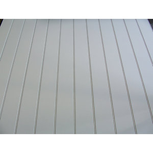 Primed Long Grooved MDF Panel 2440mm x 1215mm x 9mm