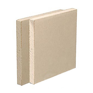 British Gypsum Gyproc Duraline Plasterboard Tapered Edge 3000mm x 1200mm x 15mm (3.6m²/Pack)