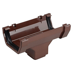 Osma SquareLine 4T806 Running Outlet 100mm Brown