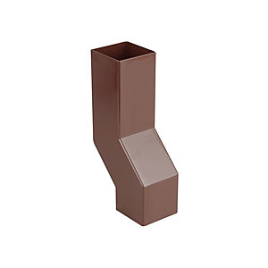 Osma SquareLine 4T838 Pipe Wall Offset 61mm Brown
