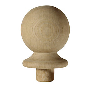 Richard Burbidge White Oak Ball Newel Cap