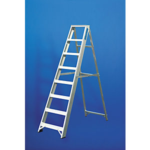 Lyte CLASS1 Trade 8 Tread Swingback Stepladder ESS8 Ladder