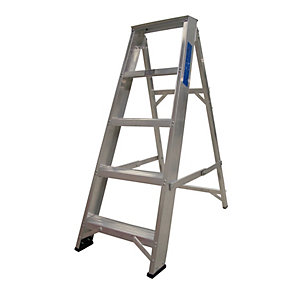 Lyte EN131-2 Professional Swingback Stepladder 5 Tread