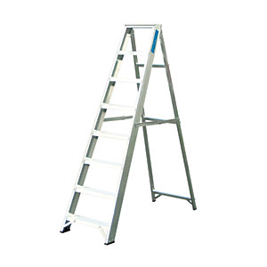 Lyte EN131-2 Professional Swingback Stepladder 8 Tread