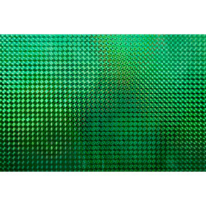 Fablon Sticky Back Plastic FAB13809 Holographic - Green Mosaic 45cm x 1.5m