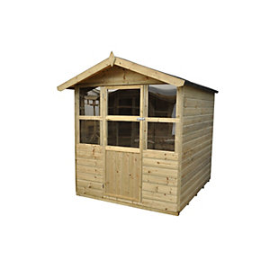 Charlebury Summerhouse - Shiplap Apex Pressure Treated 1828mm x 1828mm