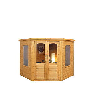 Cranbourne Corner Summerhouse Natural Timber 2133mm x 2133mm