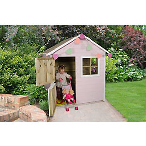 Forest Garden Natural Timber Sage Playhouse