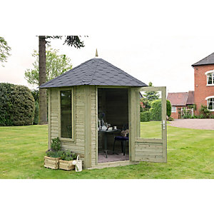 Henley Summerhouse Natural Timber