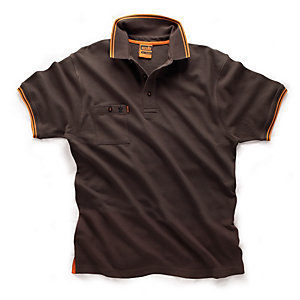 Scruffs Worker Polo Black Size XXL