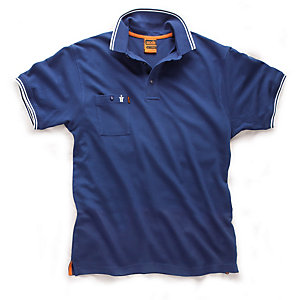 Scruffs Worker Polo Blue Size XL