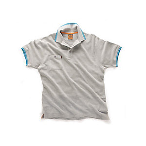 Scruffs Worker Polo Grey Size XXL