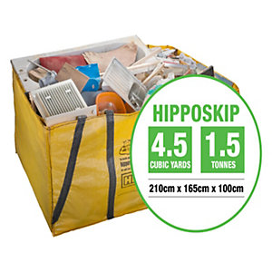 Hipposkip Skip Bag 1000mm x 1650mm x 2100mm