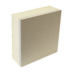 British Gypsum Gyproc Thermaline PIR MR Tapered Edge Insulated Wallboard Plasterboard 2400mm x 1200mm x 38mm
