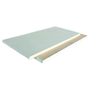British Gypsum Gyproc Thermaline PLUS  Tapered Edge insulated plasterboard 2400mm x 1200mm x 40mm (2.88m²/ Sheet)