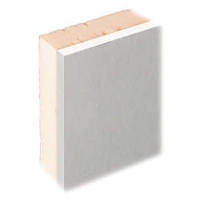 Knauf XPS Thermal Insulated Laminate Plus Tapered Edge Plasterboard 2400mm x 1200mm x 35mm