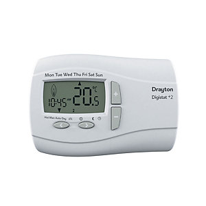 Drayton Digistat 24 Hour Programmable Thermostat Battery