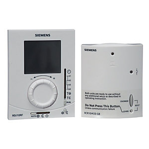Siemens RDJ10RF Wireless Programmable Room Thermostat
