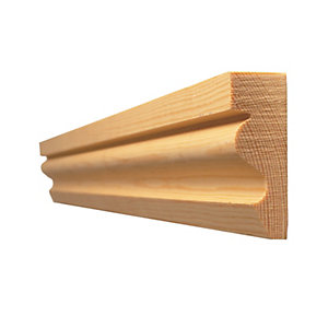 Timber Architrave Ogee Best Pattern 58 19mm x 50mm (Finished Size) 14.5mm x 44mm