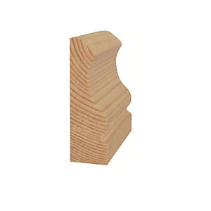 Timber Architrave Ogee Standard 25mm x 63mm x 2100mm