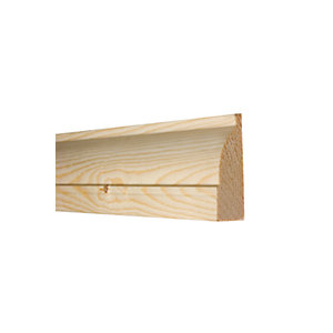 Timber Architrave Ovolo Best Pattern 433 25mm x 75mm (Finished Size) 20mm x 69mm
