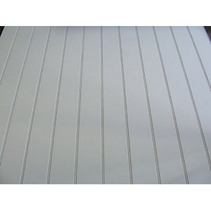 Primed Short Grooved MDF Panel 9mm x 2440mm x 1220mm
