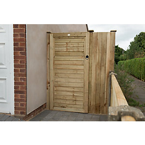 Superlap Sawn Timber Gate - 920mm x 1820mm