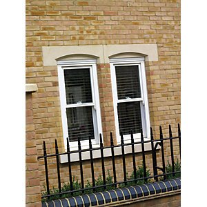 Softwood Sliding Sash 24mm Fully Glazed Timber Window 1080mm x 1045mm LETVS1010