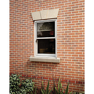 Softwood Sliding Sash 24mm Fully Glazed Timber Window 405mm x 1045mm LETVS0410