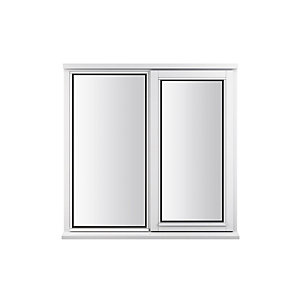 Stormsure Softwood Plain Casement 24mm Fully Glazed Timber Window 1195mm x 1045mm LEW210COPP