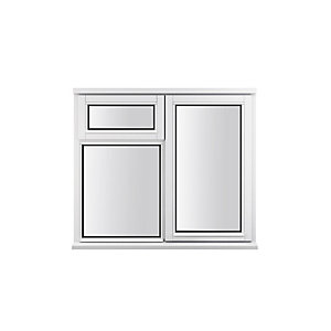 Stormsure Softwood Plain Casement 24mm Fully Glazed Timber Window 1195mm x 1045mm LEW210CVOPP