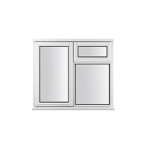 Stormsure Softwood Plain Casement 24mm Fully Glazed Timber Window 1195mm x 1195mm LEW212CVAS