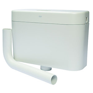 Grohe Adagio Cistern Single Flush Side Entry Low Level White