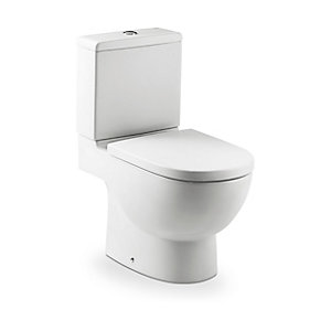 Roca 34124D000 Meridian-n Compact Close-coupled Cistern (Cistern Only)