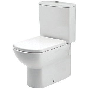 iflo Capra Close Coupled Back to Wall Cistern (Cistern Only)