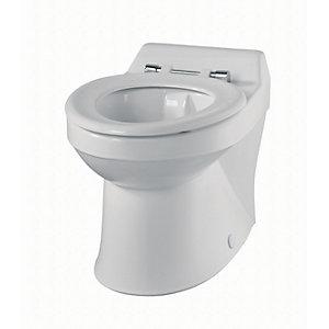 Sola School Rimless 350 Close Coupled Toilet Pan Only SA1514WH