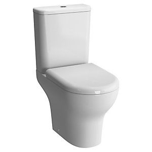 Vitra 5781L003-7200 Zentrum Close Coupled Open Back WC Pan