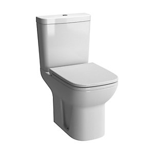 Vitra S20 Close Coupled WC Shrouded Open Back Pan Toilet Pan Only 5513L003-0075